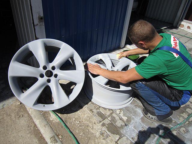Покраска и подготовка дисков